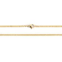 Cadena gargantilla acero inoxidable dorado eslabones 3x2.2 mm - 60 cm