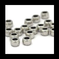 Rondel metal 6x4 mm. Taladro 3 mm - 20 uds