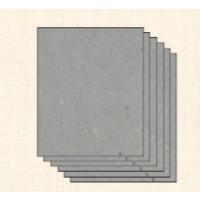 Carton contracolado GRIS encuadernar- Grosor 1.5 mm- 16x16cm