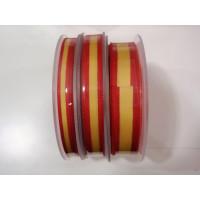 Cinta lazo bandera España 10 mm ( 1 m)