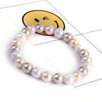 Pulsera elastica de Perlas de rio color 8 mm