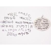 Grabado Laser - Extra nombres manuscritos de niños