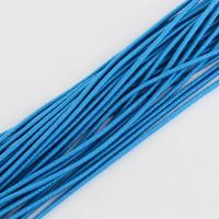 Cordon elástico redondo 2 mm color azul cielo   ( 1 metro)