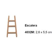 Maderitas- Silueta DM 2.5 mm grueso- Escalera 2.6x5.5 cm