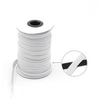 Bobina 180 metros - Cinta cordon goma elastica plana 3 mm color blanco