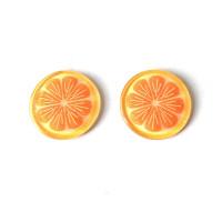 Pomelo 25 mm - Aplique resina fruta y verdura - 1 unidad