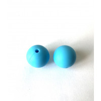 Bola de silicona 15 mm- Color Azul Claro 51