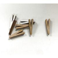 Letra adhesiva manuscrita madera DM - Mayusculas 2 cm - Letra V