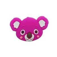 Koala de silicona 35x23x10 mm- Color Fucsia 05
