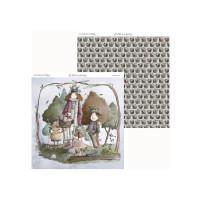Los Hechizos de Olga 01- Papel Scrap doble cara 30.5x31.5 cm