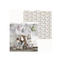 Los Hechizos de Olga 07- Papel Scrap doble cara 30.5x31.5 cm