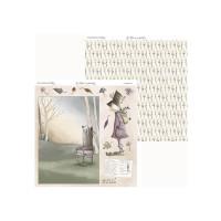 Los Hechizos de Olga 08- Papel Scrap doble cara 30.5x31.5 cm