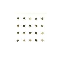 Pendiente nariz Plata de ley - Estrella dorada 3.5 mm - 1 ud