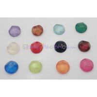 Piedra resina Aguas blancas redonda 14 mm - Color Rosa