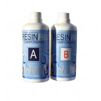 Kit resina Resin Pro epoxidica transparente 800 g