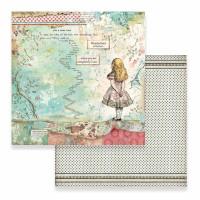 Papel scrapbooking 31.2x30.3 cm- Alice SBB-582