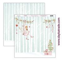Una Navidad de Cuento -Papel Scrap doble cara 30x30cm Navidad 2021 - SCP-459