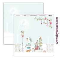 Una Navidad de Cuento -Papel Scrap doble cara 30x30cm Navidad 2021 - SCP-462