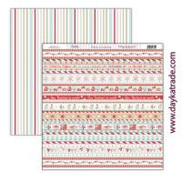 Una Navidad de Cuento -Papel Scrap doble cara 30x30cm Navidad 2021 - SCP-470