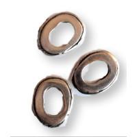 Pasador ZAMAK anillo liso reborde 18x14x4 mm Especial regaliz