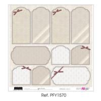 """Papel Scrap doble cara 12x 12""""- Comunión Classic- PFY1570"""
