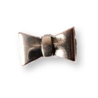 Pasador ZAMAK lazo especial para cuero regaliz 24x15x10 mm