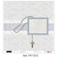"""Papel Scrap doble cara 12x 12""""- Comunión Classic- PFY1575"""