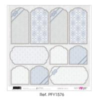 """Papel Scrap doble cara 12x 12""""- Comunión Classic- PFY1576"""