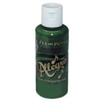 Pintura acrílica Allegro KAL 87 Verde petrolio