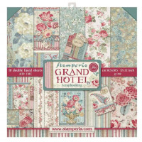 PREVENTA¡¡ Pack scrapbooking Stamperia 30x30 cm-  Grand Hotel - Set 10