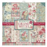 Pack scrapbooking Stamperia 30x30 cm-  Grand Hotel - Set 10