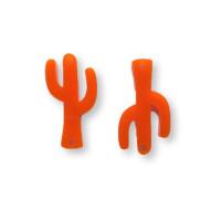 Plexy naranja- Entrepieza cactus 23 mm, int 1.2 mm