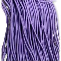 Cordon elastico 3 mm color LILA ( 1 metro)