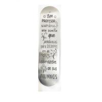 Marcapaginas Profe  15.2x3.8 cm- Un profesor siembra semilla...