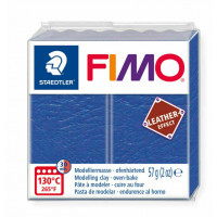 Fimo Soft Leather Effect 56g color 309 Indigo