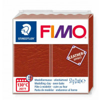 Fimo Soft Leather Effect 56g color 749 Rusty