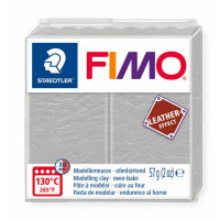 Fimo Soft Leather Effect 56g color 809 Dove Grey