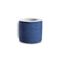 Cordon twisted 2 mm-  Azulon - 1 metro