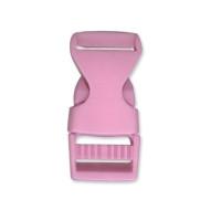 Cierre polipropileno para mochilas, pulseras, .. 20 mm - Rosa