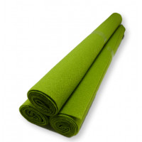 Rollo fieltro VERDE PISTACHO 80x40 cm grosor 1.5mm