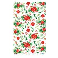 Christmas Flowers- Papel de arroz 54x33 cm - PFY1985 (Navidad)