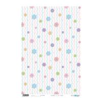 Papel cartonaje 32x48.3 cm- Zig Zag Flowers PFY-2321