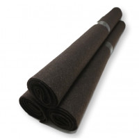 Rollo fieltro MARRON OSCURO 80x40 cm grosor 1.5mm