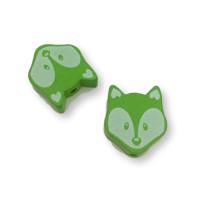 Figurita PREMIUM-  Lobito 25x20 mm -  Verde lima