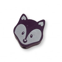 Figurita PREMIUM-  Lobito 25x20 mm -  Purpura