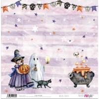 Hocus Pocus (Halloween)- Papel scrap 30x30 cm PFY2181
