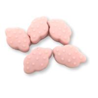 Nube estrellitas de silicona 31x21mm- Color Rosa bebe