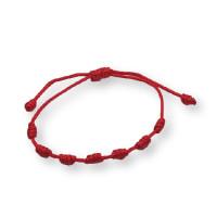 Pulsera roja de los 7 nudos ( protege de las malas energias)