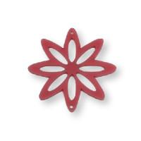 Plexy rosa - Entrepieza flor 8 petalos 37 mm