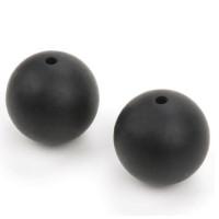 Bola de silicona 12 mm- Color Negro 44